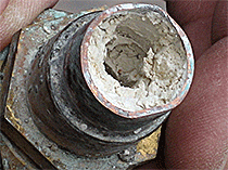 Rehau - Corroded Fitting